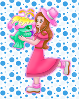 Mimi Palmon Digimon colored by MikariStar
