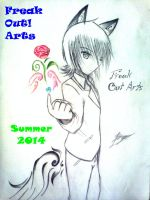 Freak Out! Arts - Summer 2014 release cover by UnitInfinity