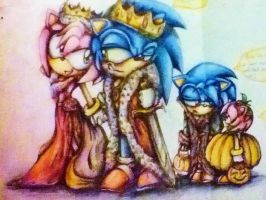 Of Kings and Queens - Coloured pencil by MissTangshan95