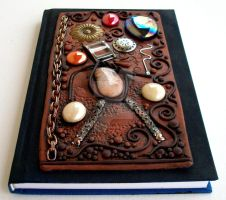 Whimsical Altered Art Journal by MandarinMoon