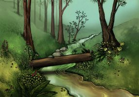 Creek by Artisticaviary