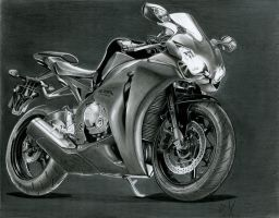 Honda CBR 1000RR by watracz