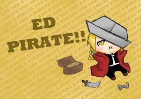 Ed Pirate by crazyfangirl38