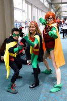 Damian, Steph and Carrie by FloresFabrications