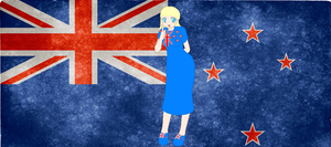 HM CSF New Zealand flag background by ABtheButterfly