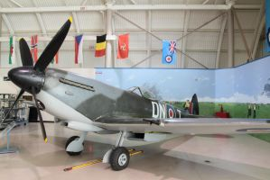 Spitfire Mk XVIe - A more traditional shot by sabot03196