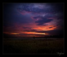 another dutch sunset by tavfan
