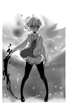 Mirai from Beyond the Boundary by Terytan