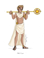 Greek God: Apollo by JadeAriel