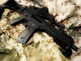 Airsoft Gun G36C with EOtech by weiserhei