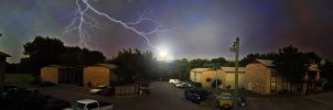 Electrical Storm, Grapevine TX 2012_0504 by Phaedris