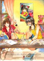 watercolorfull by Archie-The-RedCat