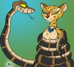 Kaa and Gia Painted by lol20