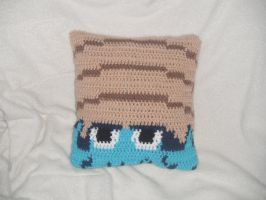 Omanyte Pillow - Front by Humble-Stitches