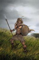 Celtic Warrior by mcguinnessjohn