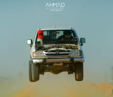 Hilux plane by ahmed-Alsheme