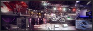 Night Club Interior, view 2 by doubleagent2005