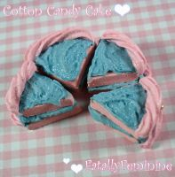 Cotton Candy Cake by FatallyFeminine
