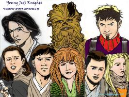 Young Jedi Knights by JenkiMimay