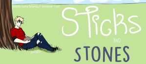 Sticks and Stones Banner by AlexMustBeAWeasley