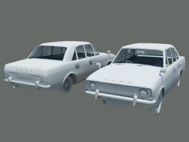 Ford Cortina mk II by NowIn3D