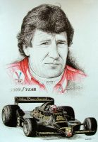 Mario Andretti Tribute by machoart