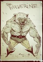 DailyDoodle Wolverine by darrenrawlings