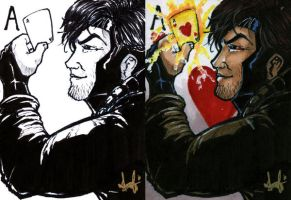 Gambit - March of Dimes by Marker-Mistress