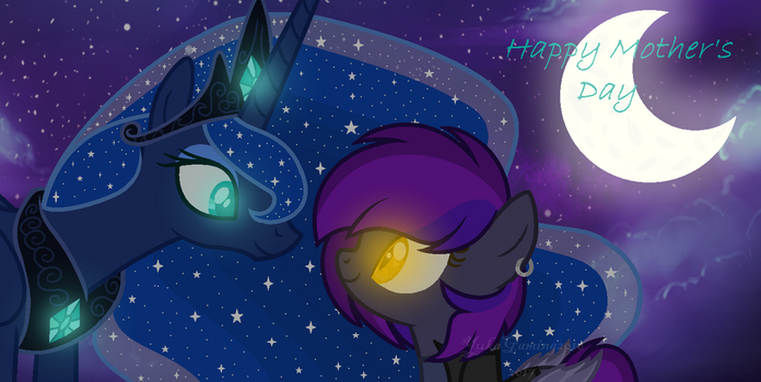 Happy Mother's Day from luna and lilith by YukaGaming2016