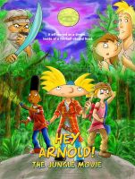 Hey Arnold: TJM Promo Art by genaminna