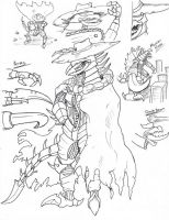 PR G-Force: Gigan by Deadpoolrus