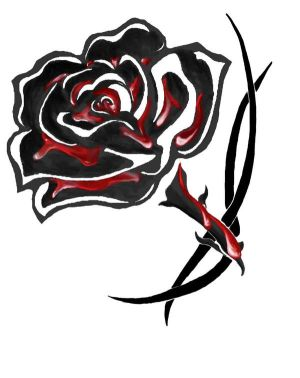 Flower Rose Tattoo Designs 6