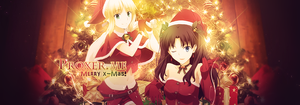 Rin and Saber - Merry X-Mas by Ayane4