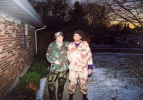 Before leave for Iraq by DavidDDay