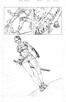 ROULETTE Page 2 (pencils) by JZINGERMAN