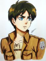 Eren jaeger by Anan-MaQsoud