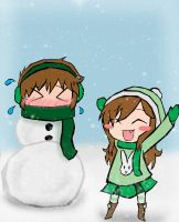 """""""ITS SNOWING"""" by Linkerbell"""