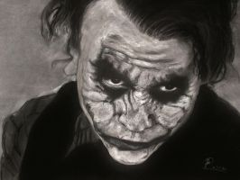 Heath Ledger - The Joker by Heraldy