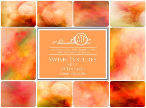 Swish Textures SET 1 by AllThingsPrecious
