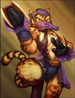 BurstOnline - War Mage - Cheetah Viper's Path by madmagnus