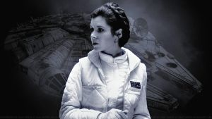 Carrie Fisher Princess Leia XLI by Dave-Daring