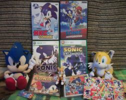 My Sonic stuff :3 by Blacky-Doll