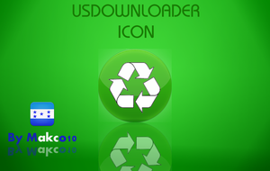 Usdownloader icon made by me by makco10