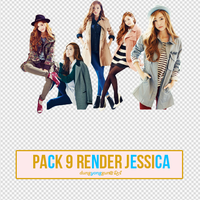 Pack 9 render Jessica by dungyonggun