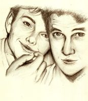 KLAINE Glee by honeybunz-yum