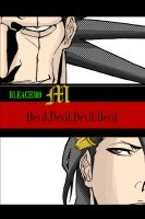 Bleach Byakuya and Zaraki By M by MarioTheArtistM