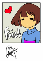 Undertale Frisk by WinndyLyn1216