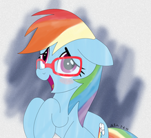 RD with Glasses by sudro