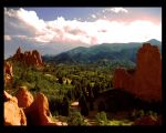 The Garden of the Gods by EvaJames