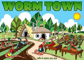 Worm Town by Z-A-K